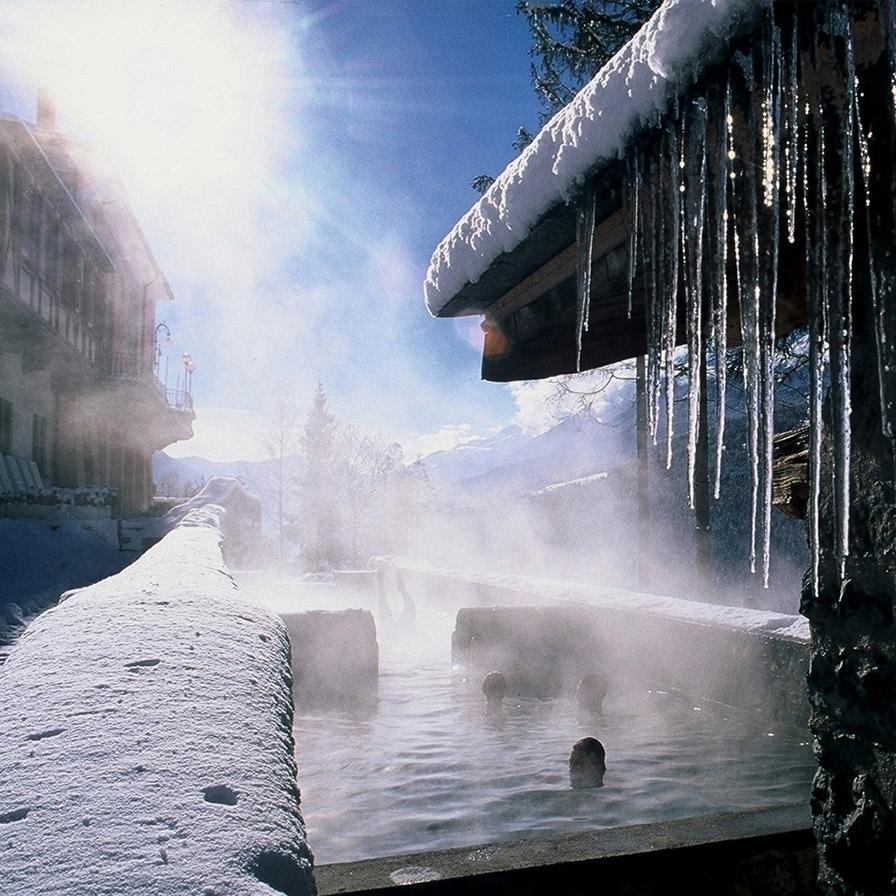 Bormio Thermal Spas And Bormio Baths